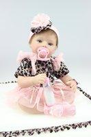 baby doll wedding dresses - NEW inch cm fashion dress Silicone baby reborn dolls boneca reborn babies wedding gift brinquedos for childs