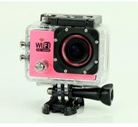 Wholesale New SJ6000 WiFi Sport Action Camera P Full HD Waterproof Camcorders GoPro Hero Go Pro Hero3 Style SJ video camera DV