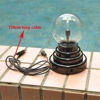 Wholesale USB Plasma Ball Magic Lightning Plasma Light ball Touch Sensitive Novelty Desktop Sphere Lamp Disco Party Gift