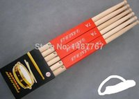 Wholesale New arrival Free drop shipping profession top quality A B A maple practice drumstick pair