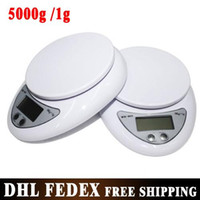 Wholesale Free DHL UPS pieces New kg g g Digital Kitchen Food Diet Postal Scale