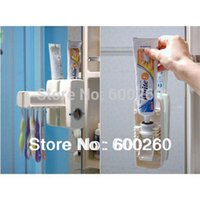 Wholesale Toothbrush Holder sets Automatic Toothpaste Dispenser toothbrush Family sets order lt no tracking