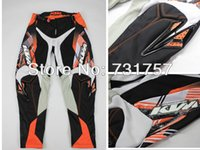 Wholesale CN TOP KTM Racetech BMX motorcycle motocross racing off road protection armor pants Motorbike Trousers fxda05