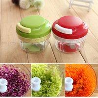 dicer chopper - Hot Sale Kitchen Spiral Slicer Food Chopper Dicer Meat Fruit Cutter Mixer Salad Crusher Excellent Quality