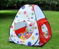 indoor playground equipment - Childern Playing Indoor Outdoor Pop Up House Kids Play Game playground equipment multi function tent for child exercise toy