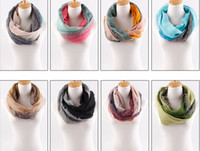 chevron scarf - NEW fashion Stripe gradients voile wave pattern Chevron Infinity Scarves Womens shawl super long scarf F124