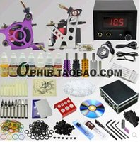 Cheap OPHIR genuine special dual professional tattoo equipment, tattoo machine kit complete set dual send Toolbox