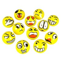 > 3 years old balls exercise - Emoji Faces Squeeze Stress Ball Hand Wrist Finger Exercise Stress Relief Therapy Assorted Styles