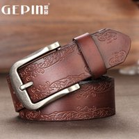 ancient songs - Song of ancient leather goods belt female models simple wild retro fashion Needle buckle belt female wide waistband Ms