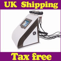 Wholesale UK shipping in1 Slimming machine Ultrasonic Liposuction K Cavitation Vacuum RF Laser radio frequency SKIN BODY face care salon machine
