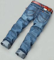 Wholesale Hot Sales New Arrive Retail Fashion Summer Style Famous Brand Printed Jeans For Mens Jeans Ripped Leisure Casual