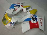 Wholesale Free Gift Handcrafted ABS White Red Blue Yellow MOTUL Fairing Fit RGV250 VJ21 Cover Race Racing Seat Screw Windshield Mid Side RGV09