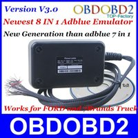 Wholesale 10pcs A Quality Adblue Emulator V3 IN For Ford and Brands Heavy Truck Vehicles Supprots EURO DHL Shipping
