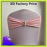 Wholesale Hot selling high quality cheap price spandex chair bow for event
