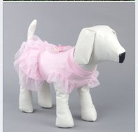 Wholesale Diaper skirt for dog Dog s pink bowknot lace skirt Szies