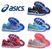 Nuevo estilo Asics Gel-Kayano 22 zapatos corrientes para los hombres de las mujeres, zapatillas de deporte atléticas respirables respirables del amortiguador de calidad superior ligero Eur 36-45