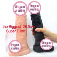 big sex toy - soft full silicone big dildo cm long Oversized Super silicone dildo the biggest women sex toy dildos Static sex toy big dong
