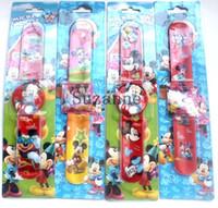 best ups battery - 20pcs Mickey logo carton slap watch Factory direct sale price children watch best gift for kids