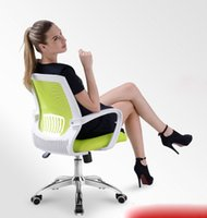 Wholesale Home Office Computer ergonomic Chair lift rotating Chair high quality staff mesh Chair
