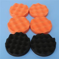 Wholesale Hot Sale High Quality inch Buffing Pad Sponge Kit For Polishing Auto Car M14 Drill Adapter order lt no track