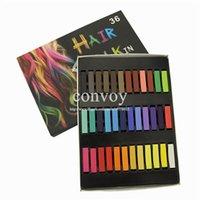 Wholesale Fashion Womens Masters Pastel colors Set Hair Dye chalk Fast Non toxic Temporary Pastel Hair care Dye Color Chalk HS04