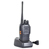 Wholesale Hot Sales Baofeng BF S Handheld W CH Single UHF Band Walkie Talkie Two Way Radio CTCSS CDCSS Interphone Transceiver Mobile