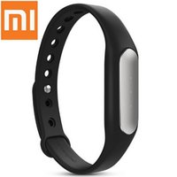 Wholesale 100 Original Xiaomi Smart Wristband Mi Band MiBand Wrist Band Smart Fitness Wearable Tracker Waterproof IP67 for Xiaomi Mi4 Mi3
