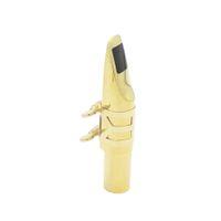 Wholesale Tenor C C C C Sax Saxophone Mouthpiece High quality Brass with Mouthpiece Patches Pads Cap Buckle