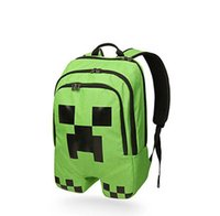 Wholesale Backpacks gym bag New arrival only pieces left minecraft creeper backpack school book bag cute backpack for youth minecraft kids teenagers