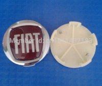 alloy wheel painting - Fiat Alloy Wheel Center Hub Caps Logo Rim Emblem Uno Red MM quot M25930 rim paint