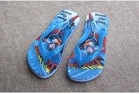 baby home shoes - kid home shoes New Baby Girl Boy Slippers Cartoon super hero sandals Beach Children Flip Flops Kids Shoes