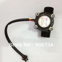Wholesale New Water Flow Sensor Flowmeter Hall Water control L min MPa Flow flow meter water sensor order lt no track