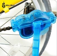 Wholesale WOLFBIKE High Quality Bike Machine Brushes Scrubber Wash Tool Kit mountaineer bicycle chain cleaner Tool kits