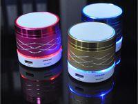 usb speaker - SA20 LED Mini Portable Wireless LED Bluetooth Speaker Hi Fi Music Player Micro SD TF Micro USB Earphone Port Stage Party Speakers LED Light
