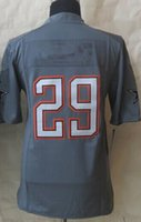 Cheap 2015 Pro Bowl Jerseys #29 Elite Jersey All star Gray Color Size 40-56 Stitched Top American Football Jerseys