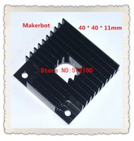 Wholesale FREE SHIPPIN Makerbot d printer accessories MK7 MK8 heat sink mm