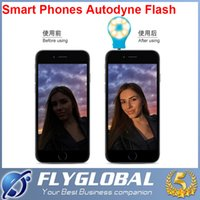Wholesale LED Video Light Camera Flash Selfie Light Cell Phone CRI Spotlight Flash for iphone S S S Samsung S4 S5 S3 Note Smartphone