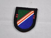 army ranger berets - US Army th Ranger Regiment Second Battalion beret badge holder shield Cap Beret Flash badge