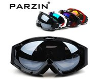 Wholesale 2014 PARZIN new outdoor Windproof glasses ski goggles dustproof snow glasses men motocross riot control goggles downhill