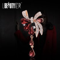 beauty supplies manufacturers - Factory Manufacturers selling boutique fashion beauty Butterfly Brooch pearls and jade wedding supplies wedding gift Val