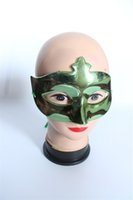 Wholesale The cheap Party Mask Masquerade Mask Carnival Mask For Venetian Masks Halloween Masquerade Party Masks on stick