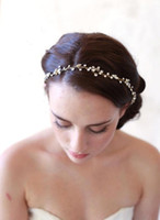 Wholesale In Stock Beautiful Wedding Bridal Hair Jewelry Crystal Tiaras Hair Accessories Sparkly Bride Headhand Cheap Bridal Jewelry Fashion CPA455
