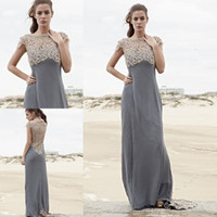 Best Light Grey Lace Bridesmaid Dresses to Buy | Buy New Light ...
