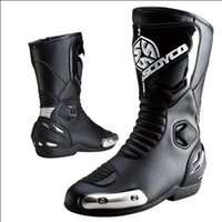 Wholesale Cycling Protective Gear Happy Rider game birds MBT004 PU leather motorcycle racing off road riding boots hiking boots mounta