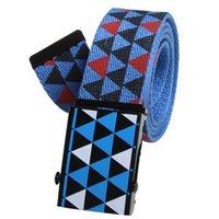 Wholesale Man Canvas Belt with Slide buckle Cintos Cinturon Military belts Brand designer High quality F014 New arrival