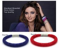 Wholesale New Fashion Women Charm Stardust Bracelets Crystal Magnetic Clasp Bracelet For Women Jewelry Pulseiras Femininas