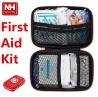 bandages for burns - NatureHike First Aid Kit Portable Medikit for Outdoor Travel Sports Emergency Indoor Or Car Treatment Bag First Aid Kits