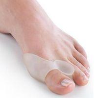 Wholesale feet care Hallux valgus orthotics Toe separator corrective insoles Toes cloven device