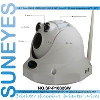 Wholesale Suneyes Wifi Wireless - SunEyes SP-P1802SW Dome IP CCTV Camera SONY Sensor 1920*1080P Wifi Wireless with Micro SD Slot ONVIF Mic Built-in