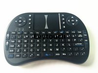 Wholesale Hot Sale Fly Mouse For Google Tv Box MINI PC Touch Flying Squirrel A21 G Wireless Qwerty Wifi keyboard With Smart TV A21 RII I8